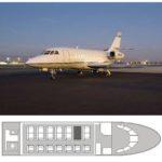 Перелеты в Прованс на Falcon 2000 DX